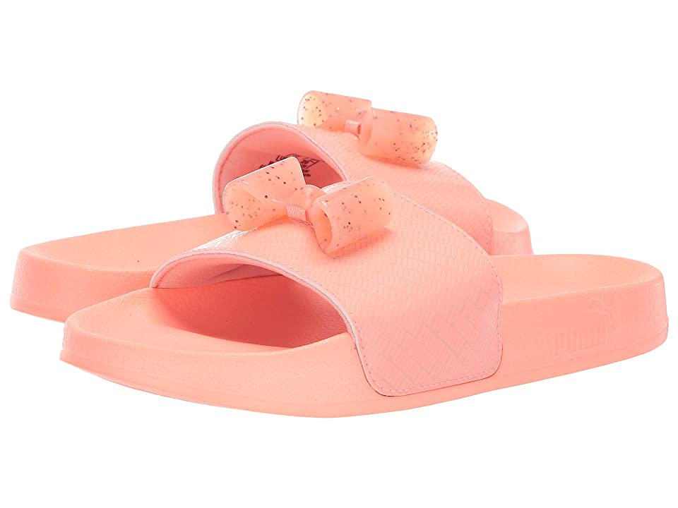 Puma Kids Leadcat Bow Jelly (Little Kid) (Peach Bud/Bright Peach) Girls Shoes