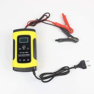 TERMALY Auto and Motorcycle UPS Battery Charger, 12V Volt Full Intelligent Universal Repair Type, LCD Battery Charger,B