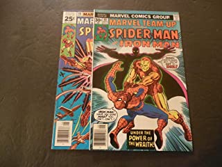 2 Iss Marvel Team-Up #48-49 Aug-Sep 1976 Bronze Age Marvel Comics