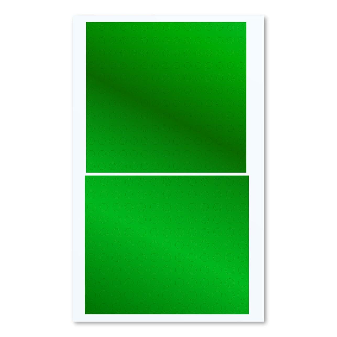 上院議員アシスト本を読むハイキューパーツ 円形メタリックシールM 3.0-4.6mm グリーン 1枚入 プラモデル用シール CMS-M-GRN