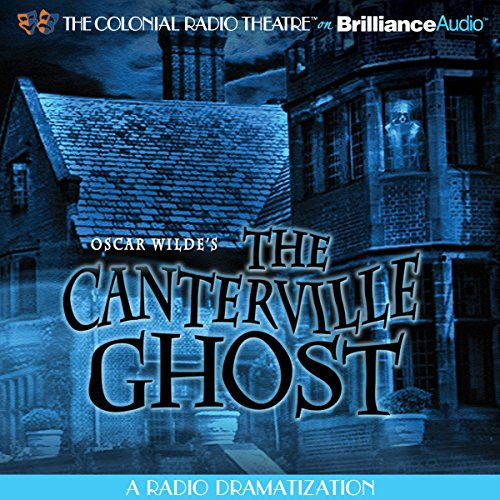 Oscar Wilde's The Canterville Ghost audiobook cover art