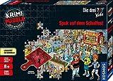 KOSMOS 697983 - Krimi Puzzle: Die ??? Kids - Spuk auf dem Schulfest, Leuchtet im Dunkeln, 200 Teile,...