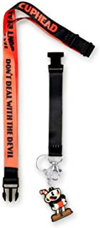 JUST FUNKY Cuphead Collectibles   Cuphead Don't Deal with The Devil Exclusive Lanyard