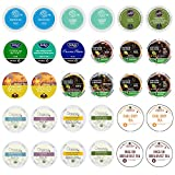 Custom Variety Pack Tea Single Serve Cups for Keurig K Cups Brewer Sampler,Net Wt. 9.52 , 30 Count