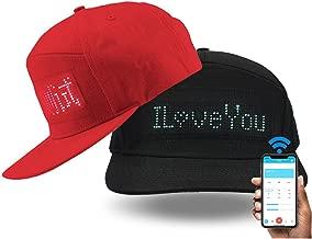 shunpad Hats for Men Baseball Halloween Birthday New Year's Christmas Party Supplies Hat Black …
