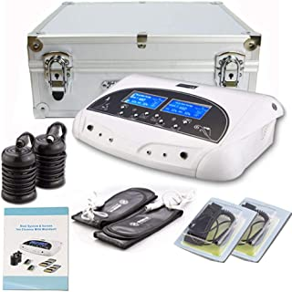 Lofan Dual Ionic Ion Detox Foot Bath Spa Machine Chi Cleanse Foot Detoxification Machine System with