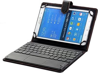 Schutzh lle f r Samsung Galaxy Tab 8 0  2019  Tastatur  universal  20 3 cm bis 22 9 cm Tablet Tastatur  PU-Leder mit Bluetooth-Tastatur  Touchpad  f r Samsung Galaxy Tab 8 0  2019   mit Stift