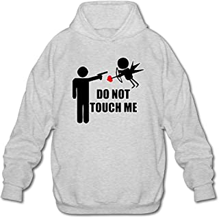 MPIQW Boy Do Not Touch Me Hoodie Cozy Sport Pullover Sweatshirt