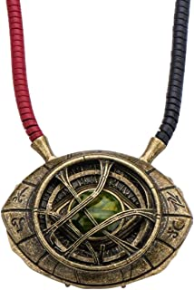 Marvel's Doctor Strange Eye of Agamotto Replica Necklace   Officially Licensed Marvel Collectible Prop   Premium Quality M...