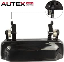 AUTEX Black Exterior Front/Rear Right/Left Door Handle Compatible with Ford Explorer,Mercury Mountaineer 1998-2001 Replacement for Ford Explorer Sport Trac 2001-2005 Door Handle 79102 2L2Z7822404AAPTM