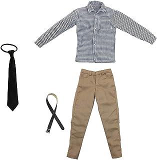 """12/"""" Action Figure Hot Toys Abbigliamento Accessorio Jeans Pantaloni Camicie Suit"""