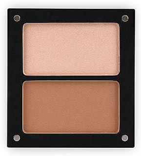 Jolly Dim Makeup Contour & Glow Set - highlighter en bronzer. Make-up palet voor het gezicht, perfect voor onderweg.