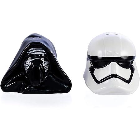 seven20 Star Wars Kylo Ren and Stomtrooper Salt and Pepper Shaker Set, None