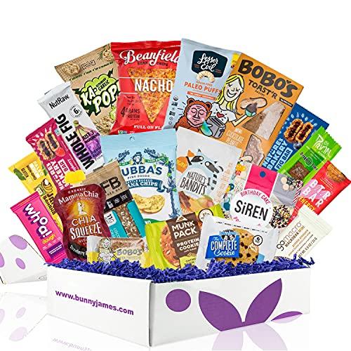 Healthy Vegan Snacks Care Package: Mix of Vegan Cookies