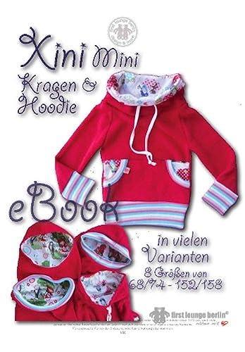 Xini Mini Nähanleitung mit Schnittmuster für Kinder Kapuzen-Pullover in vielen Varianten [Download]