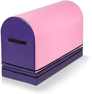 Matladin Gymnastics Mailbox Tumbling Aid Trainer, Tumbling Mat Mailbox Tumbling Trainer Gymnastics Equipment for Home for Kids