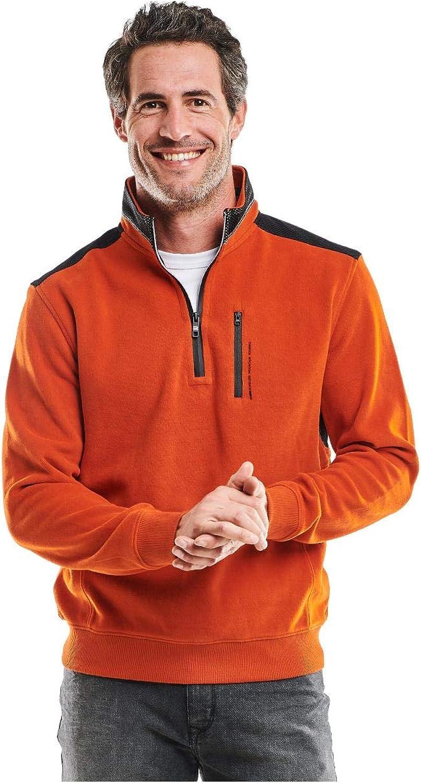 Engbers Herren Sweatshirt Stehbund, Stehbund, Stehbund, 25950, Orange B07DW7WW74  Förderung 9af555