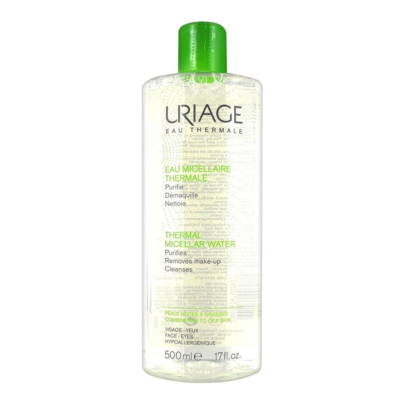 エイリアン規範花Uriage Thermal Micellar Water Combination To Oily Skin 500ml [並行輸入品]