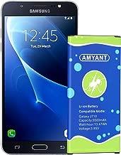 Galaxy J7 Prime Battery 3500mah Amyant Replacement Battery for Samsung Galaxy J7 (2017 Ver), J7 Perx, J7 Sky Pro, J710, J727 J727R4 J727T1 Phone [Not for J7 (2015 Ver) ] [24 Month Warranty]
