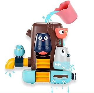 Baby Bath Toys Squirt Spray Water Toy Bathtub Toys Bird Toy Shower Set Spray Faucet Infant Kids Bathtub Shower Pool Kit Bo...