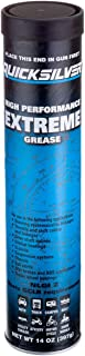 Quicksilver 8M0071841 High Performance Extreme Grease/Lubricant with PTFE, 14-Ounce Cartridge