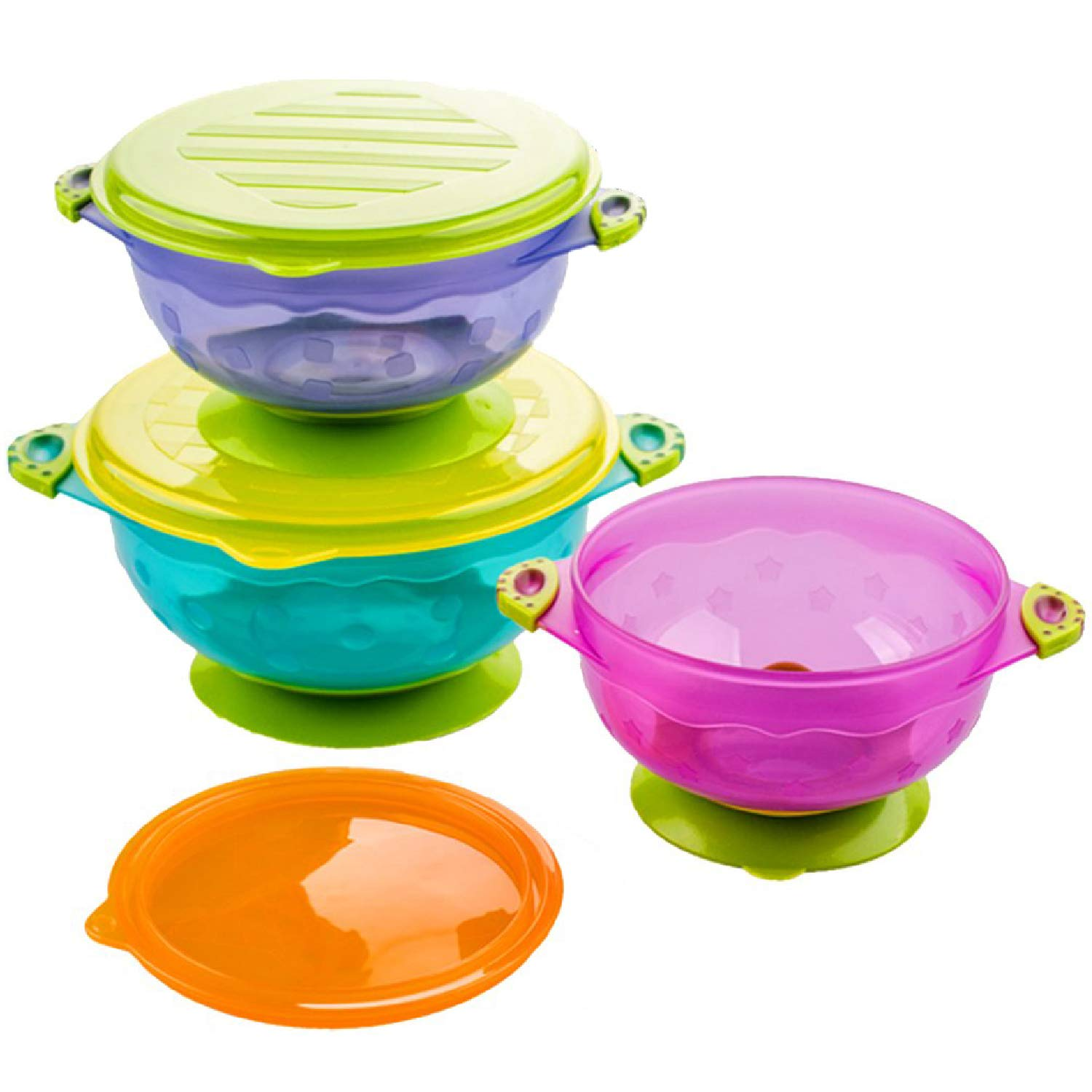 Silikong Suction National uniform free shipping Bowls for Toddlers Special Campaign BPA Dishwasher Mi and Free