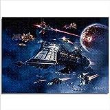 YITUOMO 1000 pièces de Puzzles Classiques pour Adultes Gothic Armada Battlefleet Gothic Armada Puzzle pour Enfants 52x38cm Jeux de Puzzle éducatifs Collections d'art Bricolage