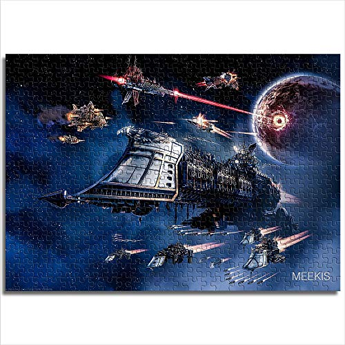 CELLYONE MEEKIS Kinderpuzzle 1000 Teile Gothic Armada Battlefleet Gothic Armada Lernspiele, Puzzle für Kinder