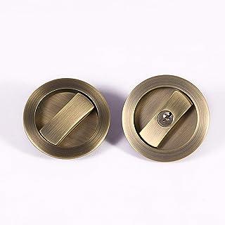 Nautical Gift Decor Pair Brass Art Dragon Door Pull Handles KNOBS Plates.YUTHEH