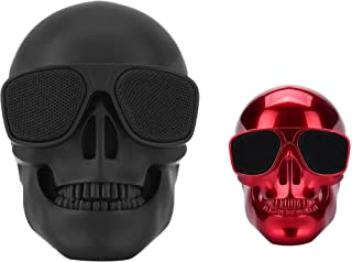 $54 » Skull Speaker Portable Bluetooth Mini Speakers Bass Stereo Compatible for Desktop PC/Laptop/Mobile Phone/MP3/MP4 Player fo...