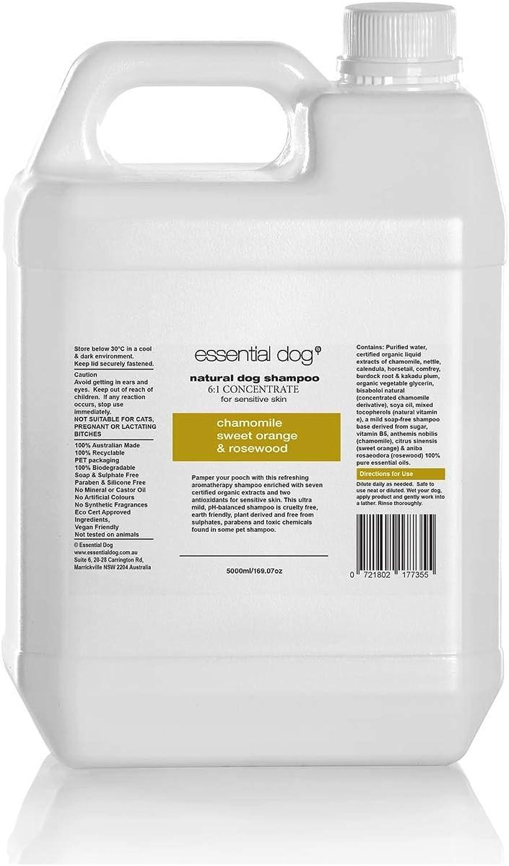 ESSENTIAL DOG Shampoo SENS Skin CHAM SWT orange pinkwood 5L (XEDSSSCSOR5)