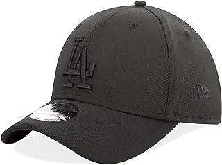 New Era Gorra Los Angeles Dodgers Back on Black MLB 39Thirty Elástica Negra