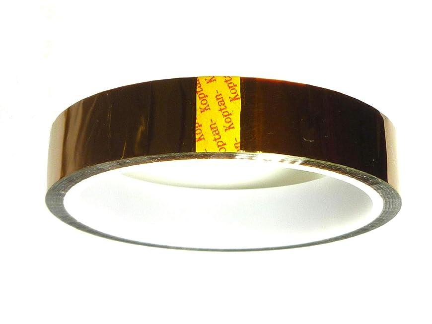 データム表現北米高耐熱?絶縁 ポリイミドテープ 18mm ×33m 電子基板等の高温部分の絶縁に(リチウムバッテリー PCB基板 ) (18mm)