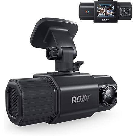Anker ROAV Dual Dash Cam Duo, Dual FHD 1080p Dash Cam for Uber, Front & Interior Wide Angle Car Cameras, Dual Sony Sensors, IR Night Vision, GPS, G-Sensor, Loop-Recording & Parking Mode (No Wi-Fi)