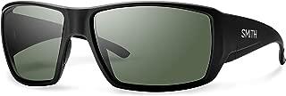 SMITH Optics Guides Choice Sunglasses,  Matte Black/ChromaPop+ Polarized Gray Green