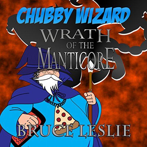 Chubby Wizard audiobook cover art