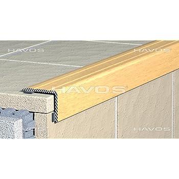 Perfil de cantos de escaleras para escalones de ángulo de escaleras – Autoadhesivo – Aluminio Anodizado: Oro, 25 mm x 20 mm (C de 03): Amazon.es: Bricolaje y herramientas