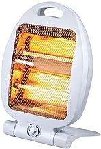 Yuan Dun'er Calefactor Aire Caliente bajo Consumo,Ventilador de Calentador portátil 400W / 800W Ventilador de Escritorio Ajustable para calefacción de Interior Camping
