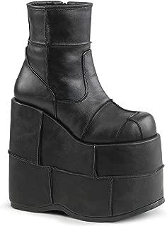 Demonia Men's Stack-201/bvl Ankle Bootie