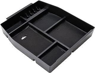 EDBETOS Center Console Armrest Storage Box Insert Organizer Tray For Ford F150 2015 2016 2017