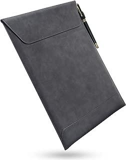 スリーブケース macbook pro/air 13用 大切なご愛機をきちんと守れる マグネット開閉 薄型・軽量 (PUブラック)