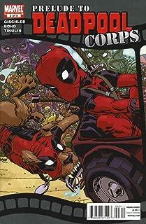 Deadpool Massacre #1 printed in English marvel comic book series 1st appearance