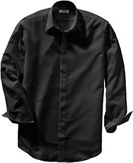 Edwards Men's Batiste Cafe Shirt 3XL Tall Black