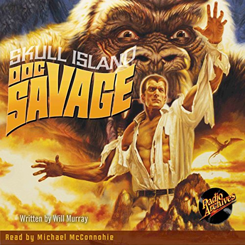 Doc Savage #3: Skull Island cover art
