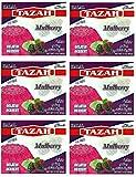 Mulberry Gelatin Dessert Jello Halal 3.oz/85gm each - Pack of 6 - جيلية حلال بطعم التوت الشامي