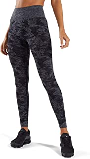 Yaavii Damen Sport Leggings Lange Blickdicht Yogahose Sporthose Streetwear Sporttight mit Hohe Taille Bauchkontrolle