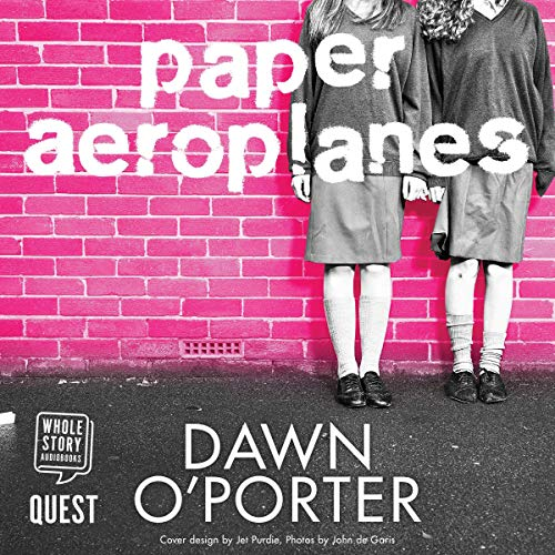 Paper Aeroplanes audiobook cover art