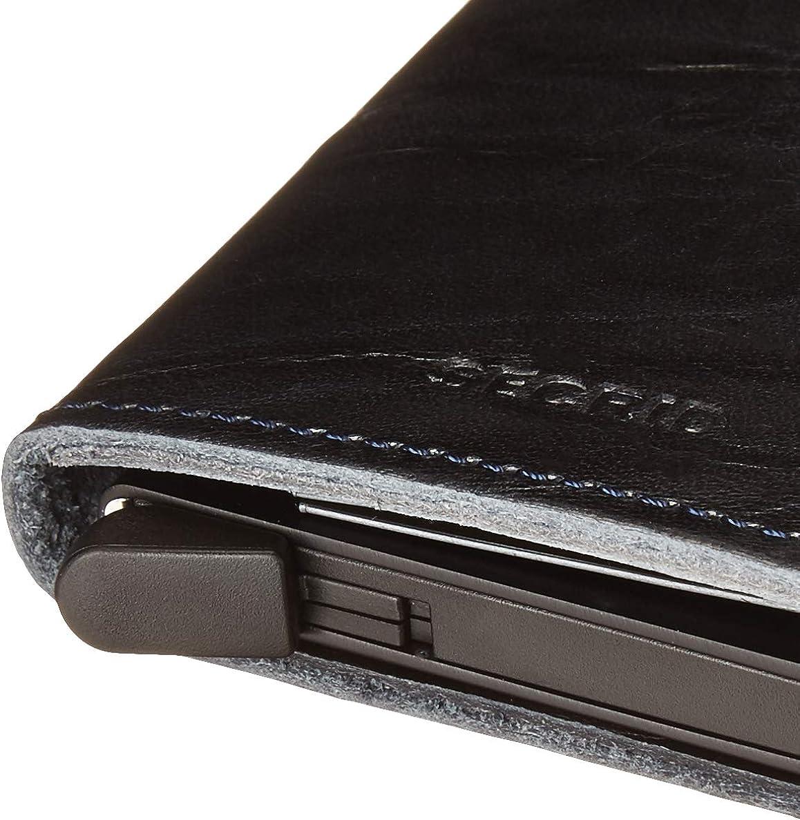 SECRID - Secrid Slim wallet Genuine Leather Dutch Martin RFID Safe Card Case for max 12 cards