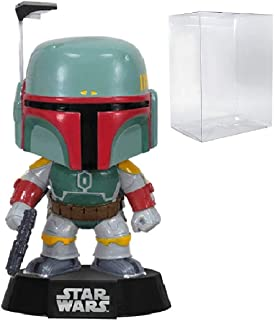 Funko POP. star wars: Boba Fett # 08vinilo bobble-head figura (incluido con caja de Pop Protector Case)