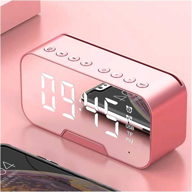 QIANXIMY Alarm Clock Bluetooth New Free Shipping Digital LED Al Mirror security